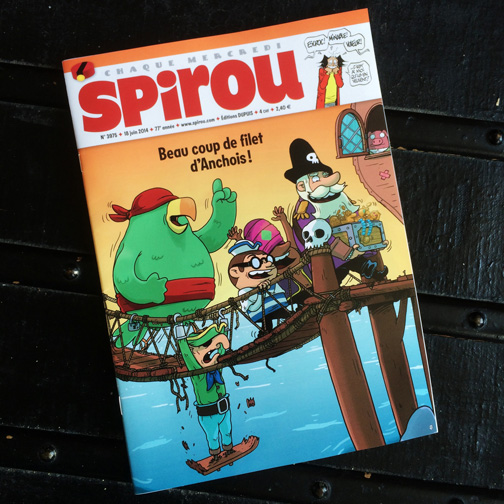 Cette semaine dans Spirou – deze week in Spirou