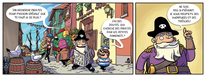 Capitaine Anchois – la fête d'anniversaire