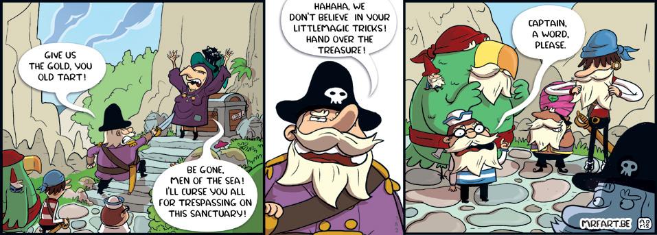 Captain Anchovy 182 Curse