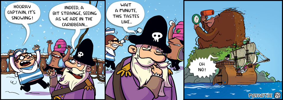 Captain Anchovy Snow