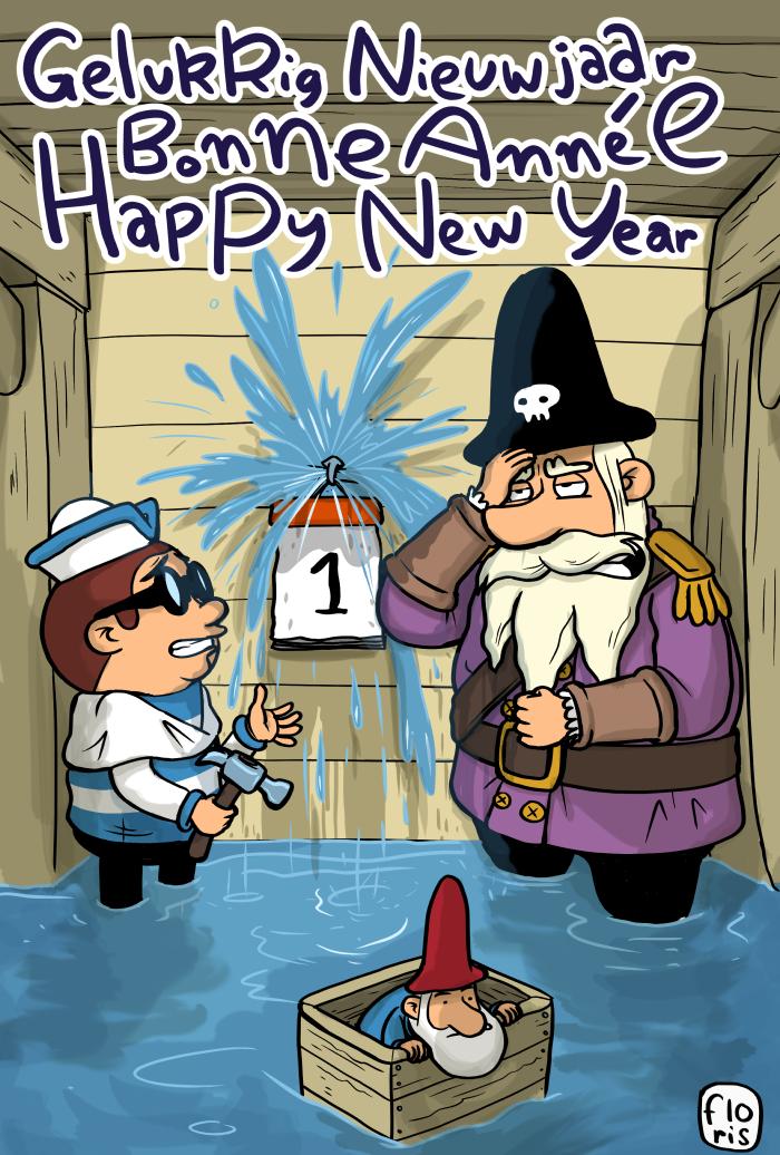 Gelukkig Nieuwjaar – Bonne Année – Happy New Year