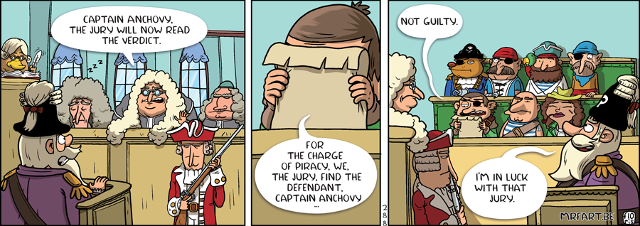 Captain Anchovy The Jury