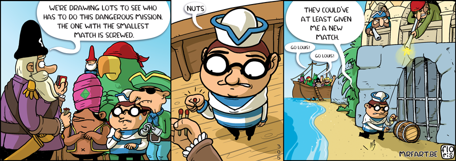 Captain Anchovy The Draw