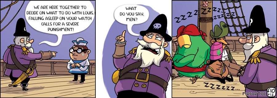 Captain Anchovy Sleep