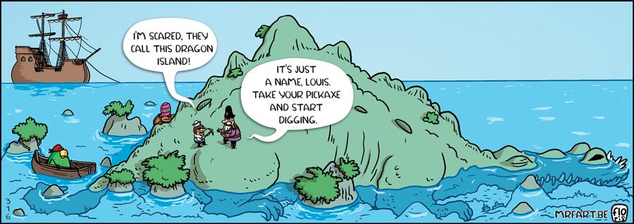 Captain Anchovy Dragon Island