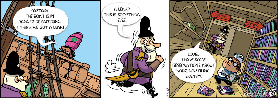 Captain Anchovy The Comics