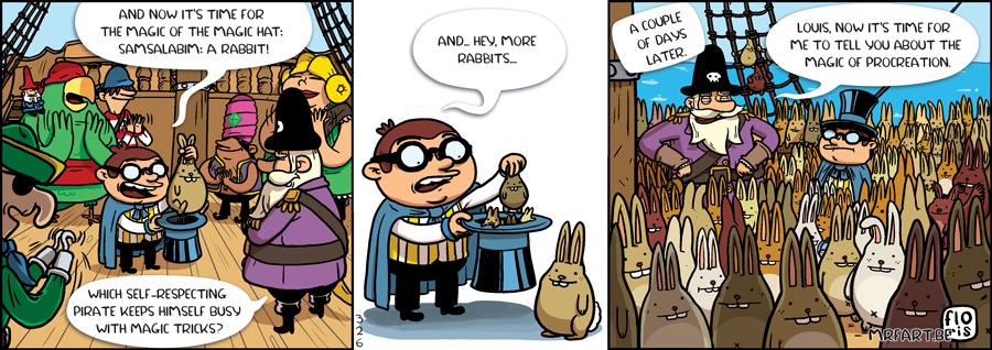 Captain Anchovy Bunny Love