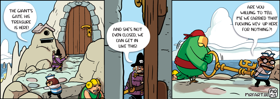 Captain Anchovy The Key