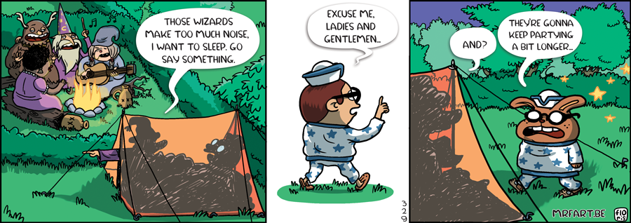 Captain Anchovy Camping 2