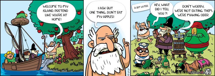 Captain Anchovy The Forbidden Fruit