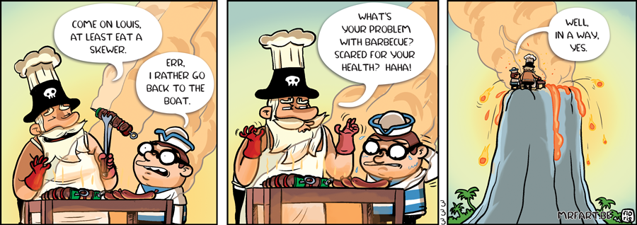 Captain Anchovy The Bbq