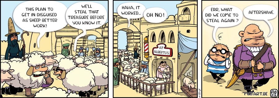 Captain Anchovy The Sheep