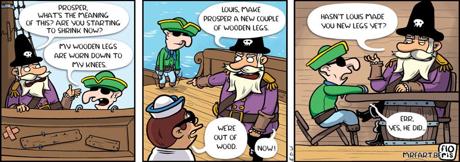 Captain Anchovy Peg Leg