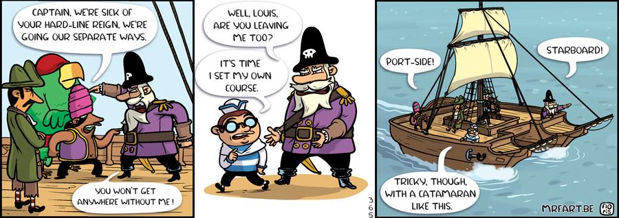 Captain Anchovy The Split