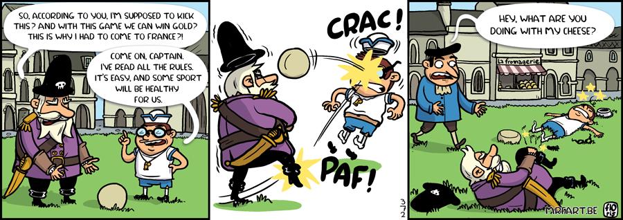 Captain Anchovy Football
