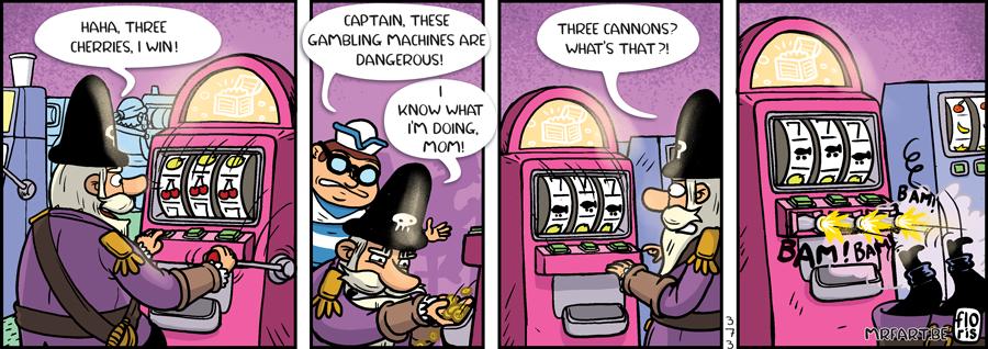 Captain Anchovy Gambling