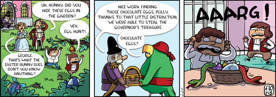 Captain Anchovy Easter